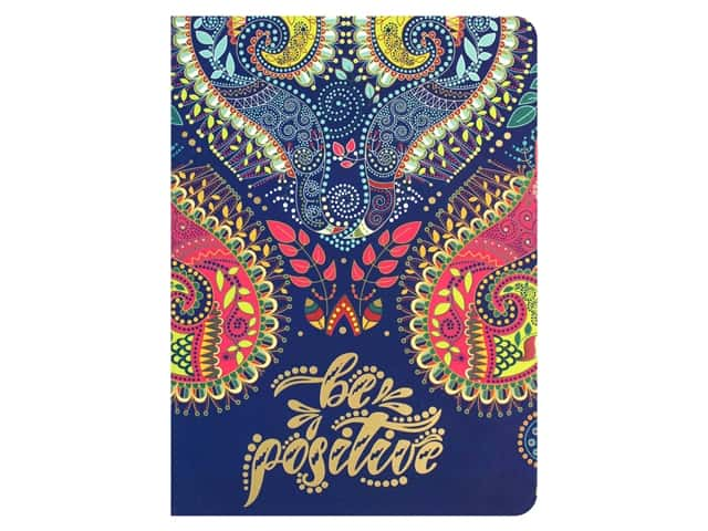 Paper House Collection Life Organized Journal Soft Cover Paisley Navy