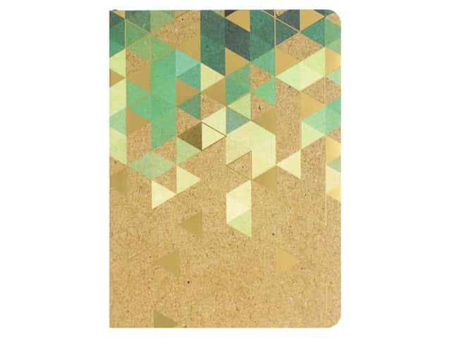 Paper House Collection Life Organized Journal Soft Cover Krafted Green