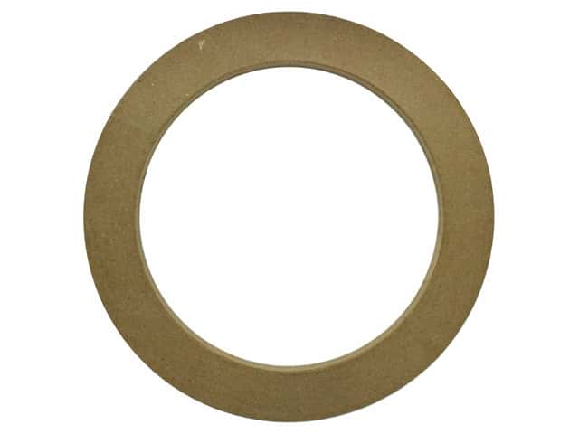 Darice Paper Mache Wreath 16 in. x 16 in.