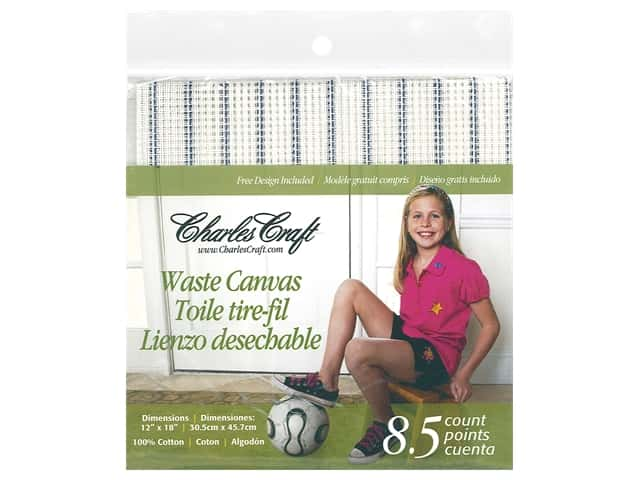 Charles Craft 8.5-count Waste Canvas 12 x 18 in.