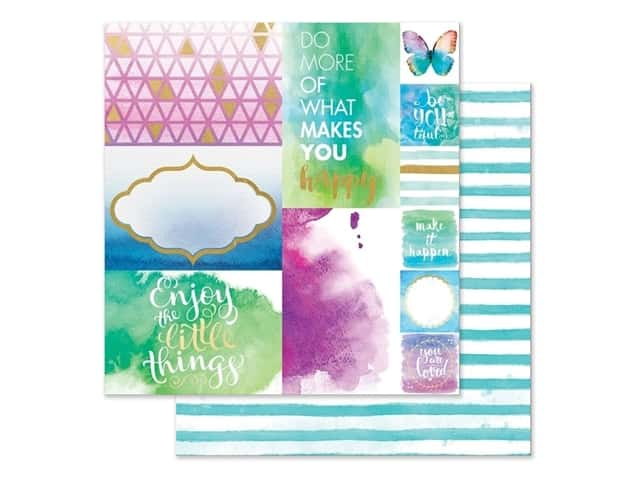 Paper House Paper 12 in. x 12 in. Makes You Happy