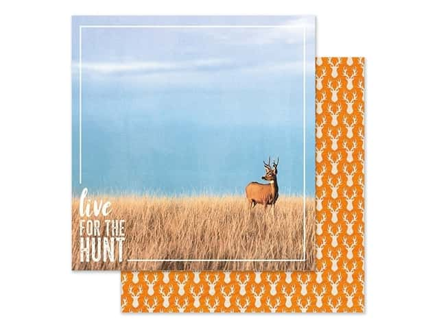 Paper House Paper 12 in. x 12 in. Live For The Hunt