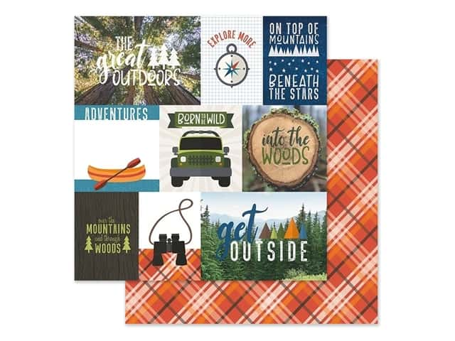 Paper House Paper 12 in. x 12 in. Tags Great Outdoors