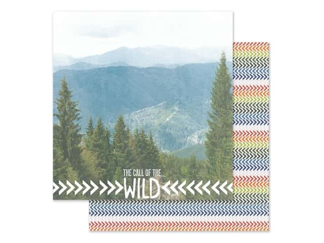 Paper House Paper 12 in. x 12 in. Call Of The Wild