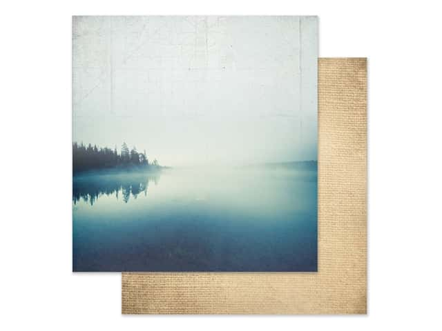 Paper House Paper 12 in. x 12 in. Morning At The Lake