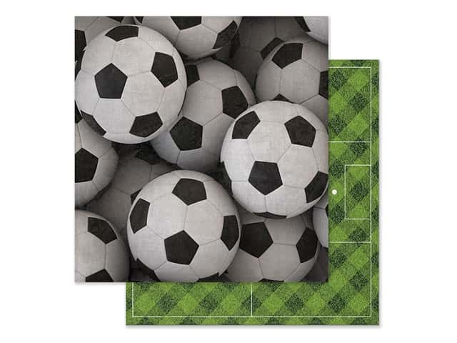 Paper House Paper 12 in. x 12 in. Soccer Balls