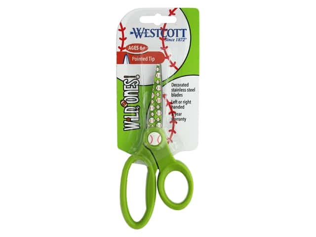 Westcott Scissors 5 in. Pointed Baseball