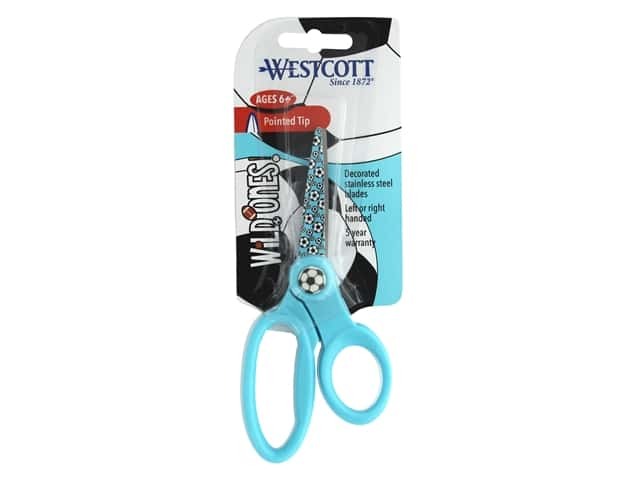 Westcott Scissors 5 in. Pointed Soccer