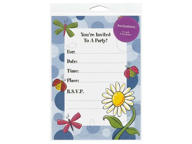Gallant Greetings General Party Invitation 9 8 ct