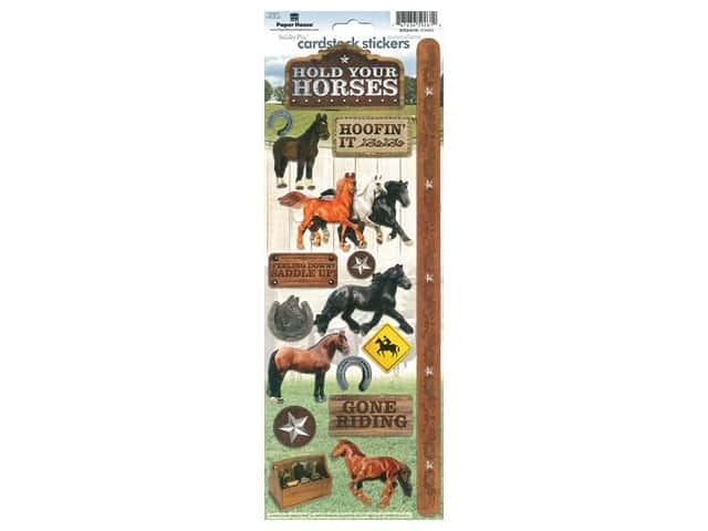 Paper House Sticker Cardstock Horses