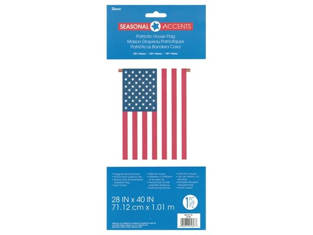 Darice USA Garden Flag 28 x 40 in.