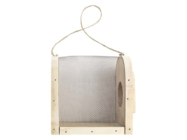 Darice Unfinished Wood Insect Box 4 in.
