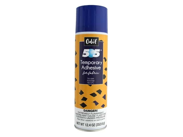 Odif Products 505 Spray & Fix Adhesive Temporary Repositional 12.4 oz
