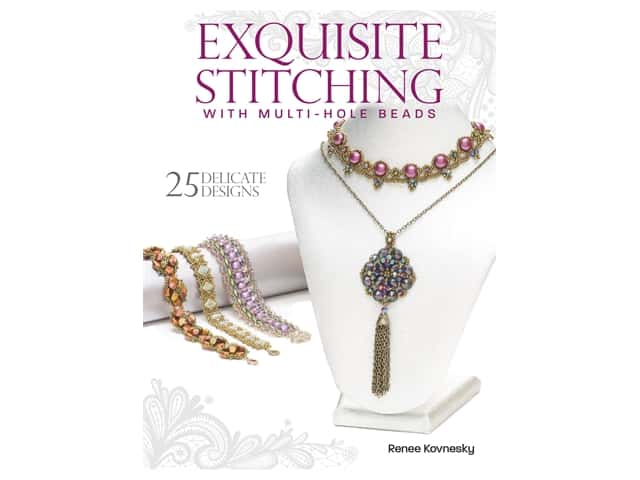 Kalmbach Exquisite Stitching With Multi Hole Beads Book