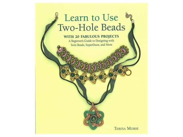 Kalmbach Learn To Use Two-Hole Beads Book
