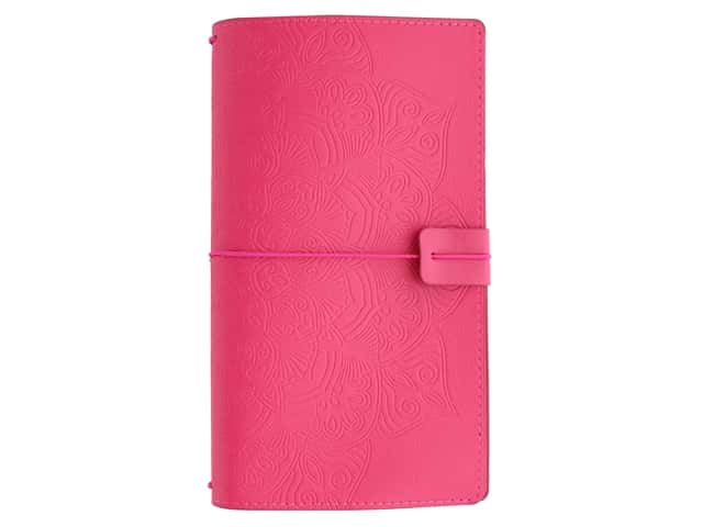 Paper House Collection Life Organized Journey Book Cover Mandala Magenta