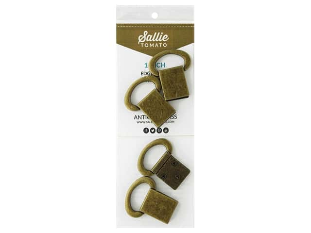 Sallie Tomato Hardware Edge Strap Connectors Antique