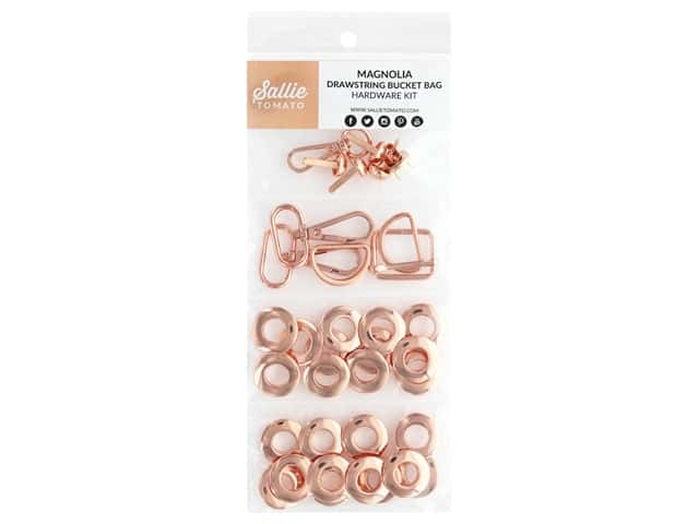 Sallie Tomato Hardware Magnolia Drawstring Kit Copper/Rose Gold