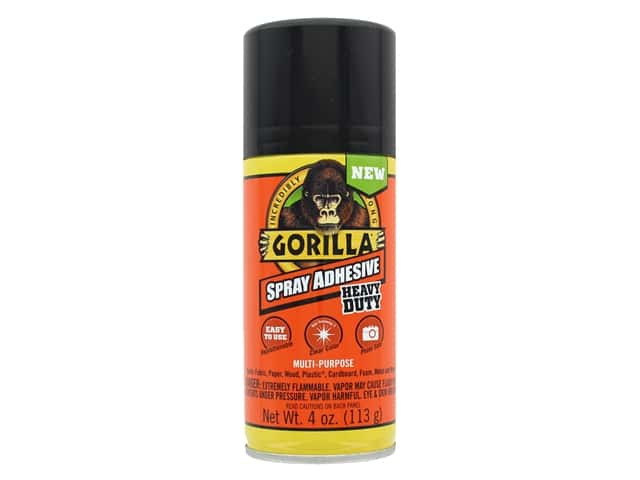 Gorilla Glue Spray Adhesive Heavy Duty 4 oz