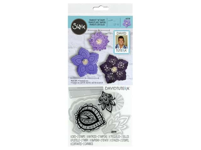 Sizzix Die & Stamp David Tutera Framelits Lace Flower