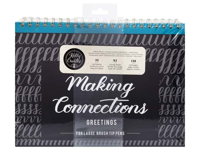 American Crafts Collection Kelly Creates Workbook Making Connections Greeting For Large Pen