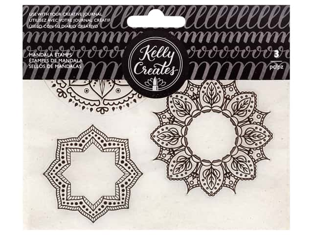 American Crafts Collection Kelly Creates Stamp Mandala