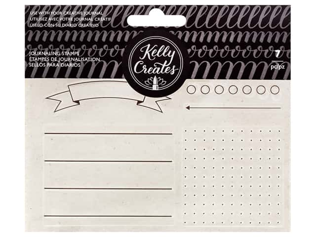 American Crafts Kelly Creates Stamp Set - Journaling