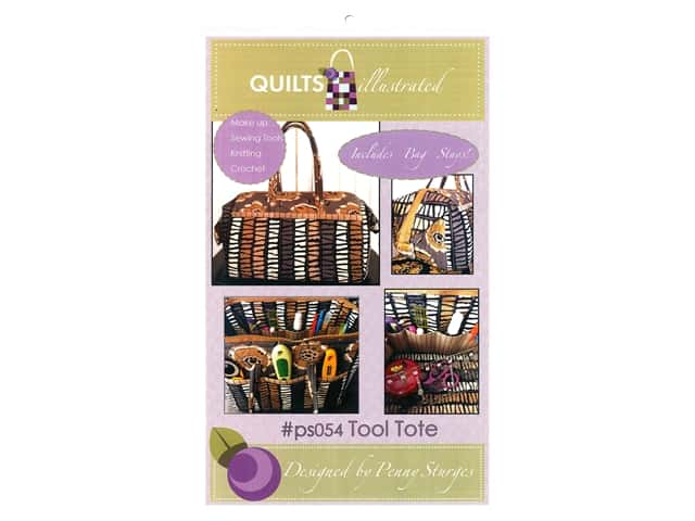 Quilts Illustrated The Tool Tote Pattern