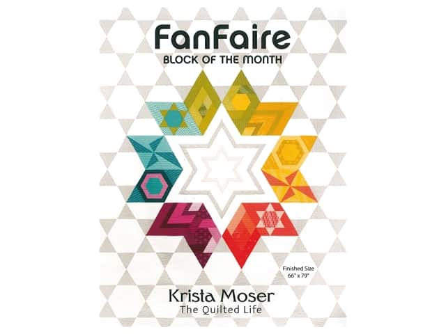 Krista Moser FanFaire Block Of The Month Book