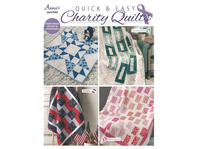 Annie's Quick & Easy Charity Quilts Book