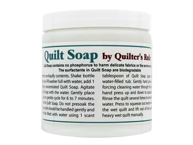 Quilter's Rule Quilt Soap 8 oz Jar