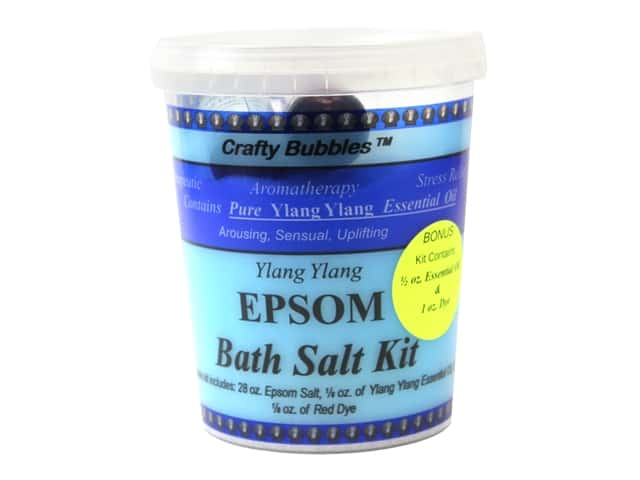 Crafty Bubbles Epsom Bath Salt Kit Ylang Ylang