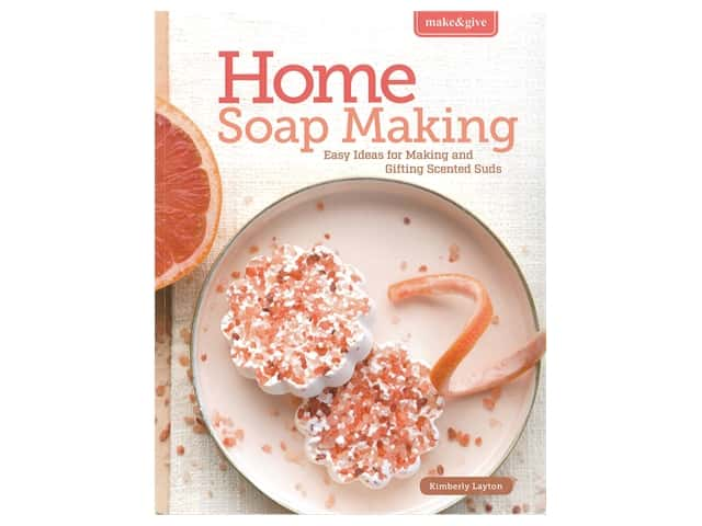 Leisure Arts Make And Give Home Soap Making Book