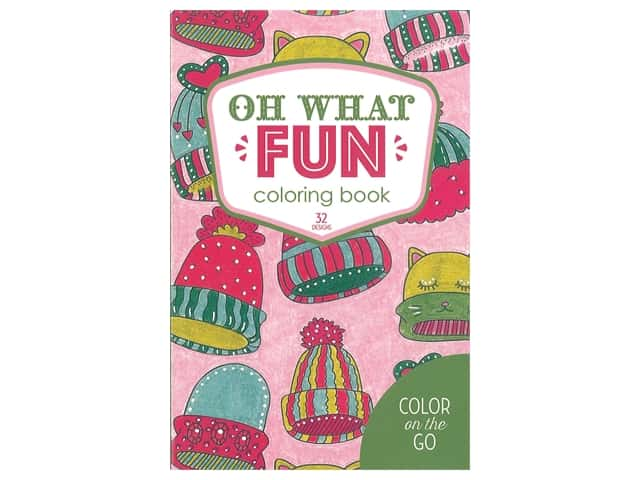 Color on the Go: Oh What Fun Coloring Book