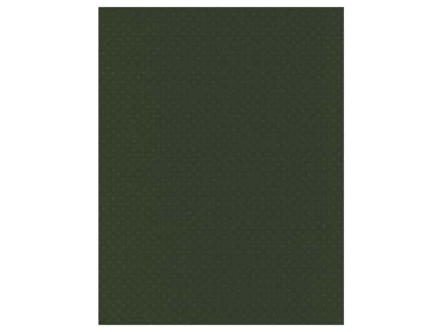 Paper Accents Mini Dot Cardstock 8.5 in. x 11 in. 80 lb Boxwood UPC