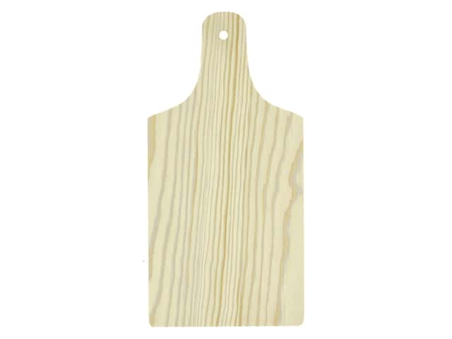 Sierra Pacific Crafts Wood Cheese Board Unfinished 9 in. x 4.5 in. x .25 in.