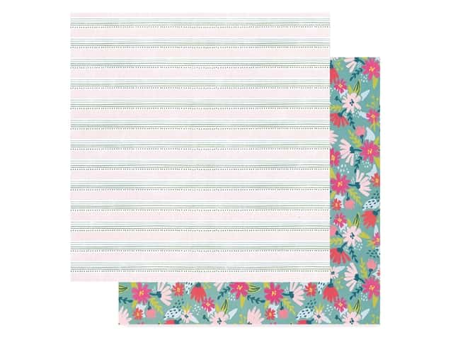 American Crafts Collection Dear Lizzy New Day Paper 12 in. x 12 in. Stay Humble
