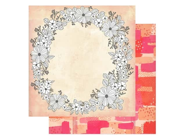 American Crafts Collection Vicki Boutin Field Notes Paper 12 in. x 12 in. Choose To Shine
