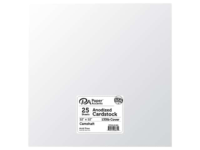 Paper Accents Anodized Cardstock 12 x 12 in. Camshaft 25 pc.