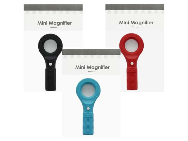 Graphic Impressions Mini Magnifiers Assorted Colors