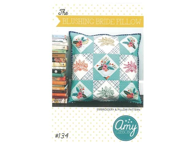 Amy Gibson The Blushing Bride Pillow Pattern