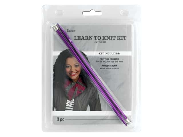 Darice Learn to Knit Kit