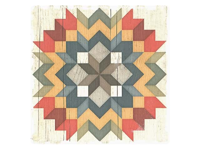 Graphic Impressions Barn Quilts Coaster Carpenter's Star