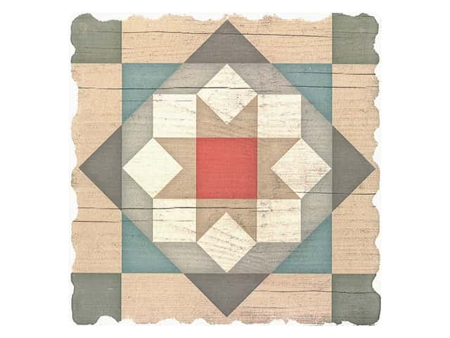 Graphic Impressions Barn Quilts Coaster Barn Star