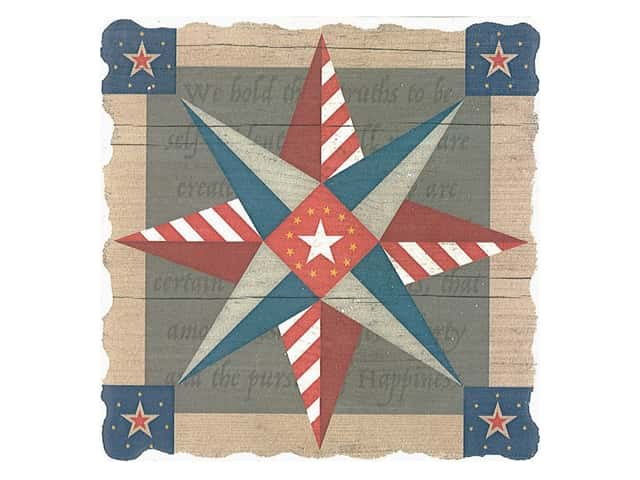 Graphic Impressions Barn Quilts Coaster American Guiding Star
