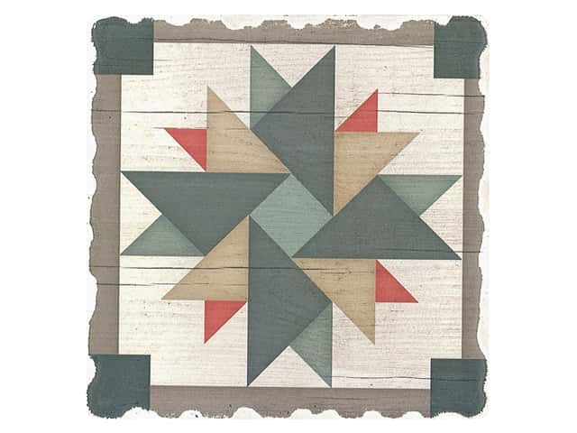 Graphic Impressions Barn Quilts Coaster Windmill