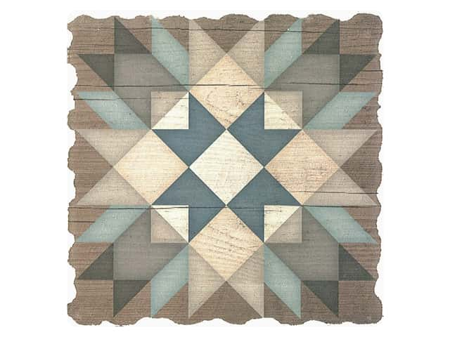 Graphic Impressions Barn Quilts Coaster Starburst