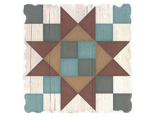 Graphic Impressions Barn Quilts Coaster Friendship Star
