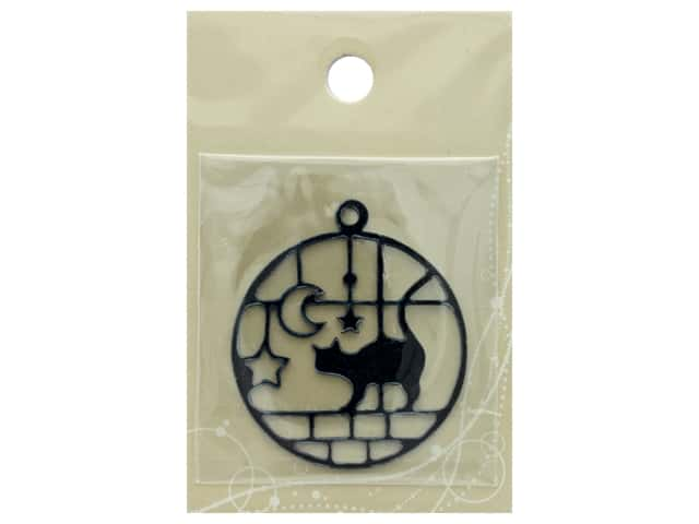 Resinate Plate Silhouette Cat