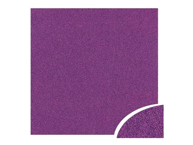 Paper Accents Glitter Cardstock 22 x 28 in. #G46 Grape Jam 10 pc.